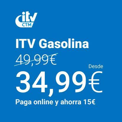 Conoce el Precio de ITV turismo gasolina en ITV CTM
